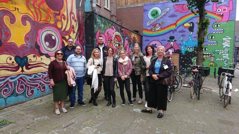 JCI Rotterdam wandelt voor stichting Jarige Job